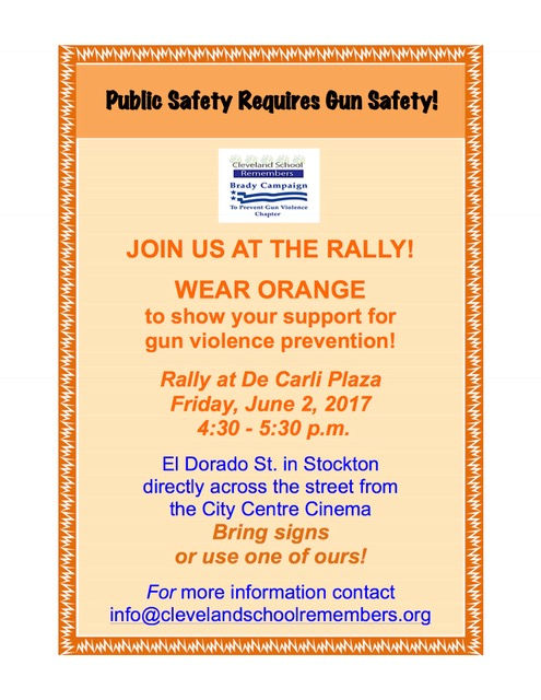 Join CSR/Brady on June 2, 2017 – Wear Orange